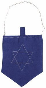 Star of David Treat Bag