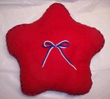 Learn to Sew Star Pillow
