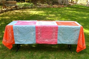 Bandana Quilt Tablecloth