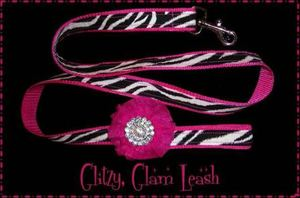 Glitzy Glam Dog Leash