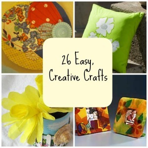 26 Easy Creative Crafts