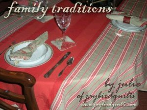 Family Traditions Tablecloth