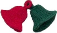 Knitted christmas bells allfreeknitting if you want to make a decorative knitting project for christmas why not try this easy knitting pattern and make knitted christmas bells dt1010fo