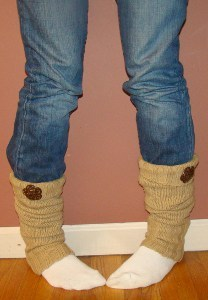 Sweater Leg Warmers