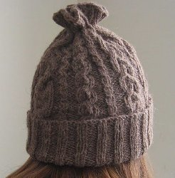 14 Cable Hat Knitting Pattern