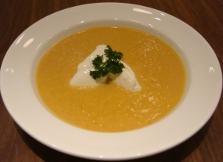 Cream of Roasted Butternut Squash Soup
