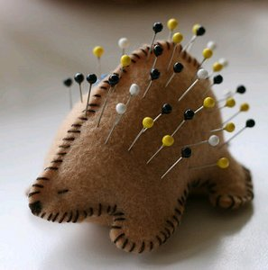 Porcupine Pin Cushion