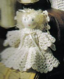 Delicate Angel Doll Crochet Pattern