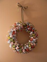 Crafty Christmas Wreath