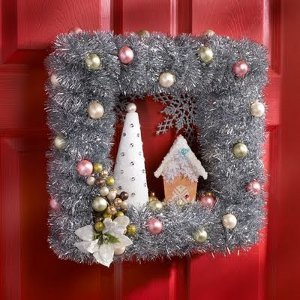 Vintage Style Holiday Wreath