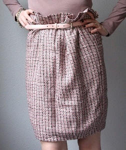 Mulberry Style Paperbag Skirt