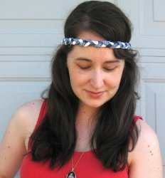 How To Make A Colorful Braided Headband