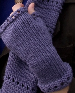 Beginner Montgomery Fingerless Mitts