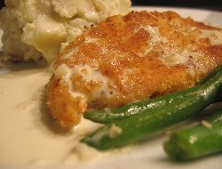 Copycat Cheesecake Factory Crispy Chicken Costolleta
