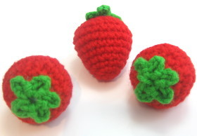 Pretend Play Strawberries