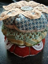 Doily Pin Cushion