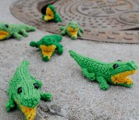 16 extra cute amigurumi knit patterns allfreeknitting nothings cuter than a tiny stuffed animal and these little knit amigurumi patterns are no exception even something like crocodile babies can become cute dt1010fo