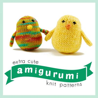 16 Extra Cute Amigurumi Knit Patterns