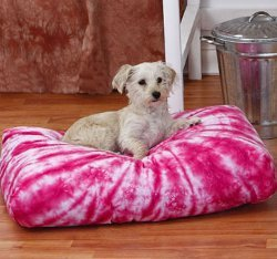 Tie-Dye Dog Bed