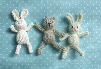 Teeny Tiny Knitted Toys