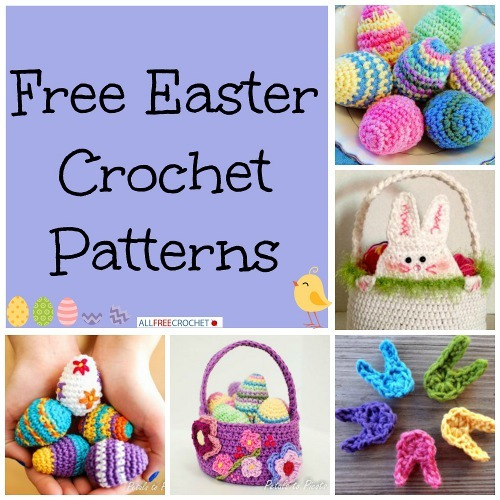 Easter Crochet Patterns For Beginners : 20 Free Easter Crochet Patterns AllFreeCrochet.com