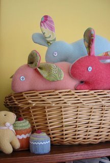 22 easter projects to sew allfreesewing bunny projects negle Image collections