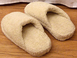 Bath Towel Spa Slippers