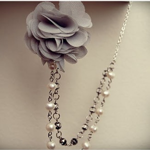 Beaded Rose Necklace Tutorial