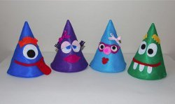 New Year's Eve Party Hats for Kids