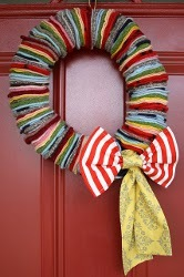 ROY G BIV Wreath