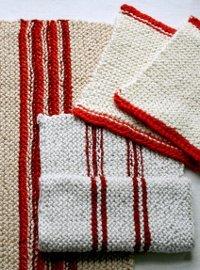 Soft Cotton Dishtowels | AllFreeKnitting.com