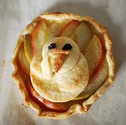 Turkey Inspired Apple Tarts