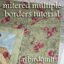 How to Make Multiple Mitered Borders | FaveQuilts.com : mitered quilt borders easy - Adamdwight.com