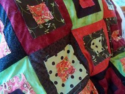 How to tie a quilt by machine favequilts how to tie a quilt by machine ccuart Image collections