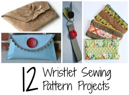 12 Wristlet Sewing Pattern Projects Allfreesewing Com