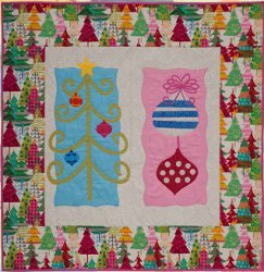 Christmas Tree Sampler Quilt