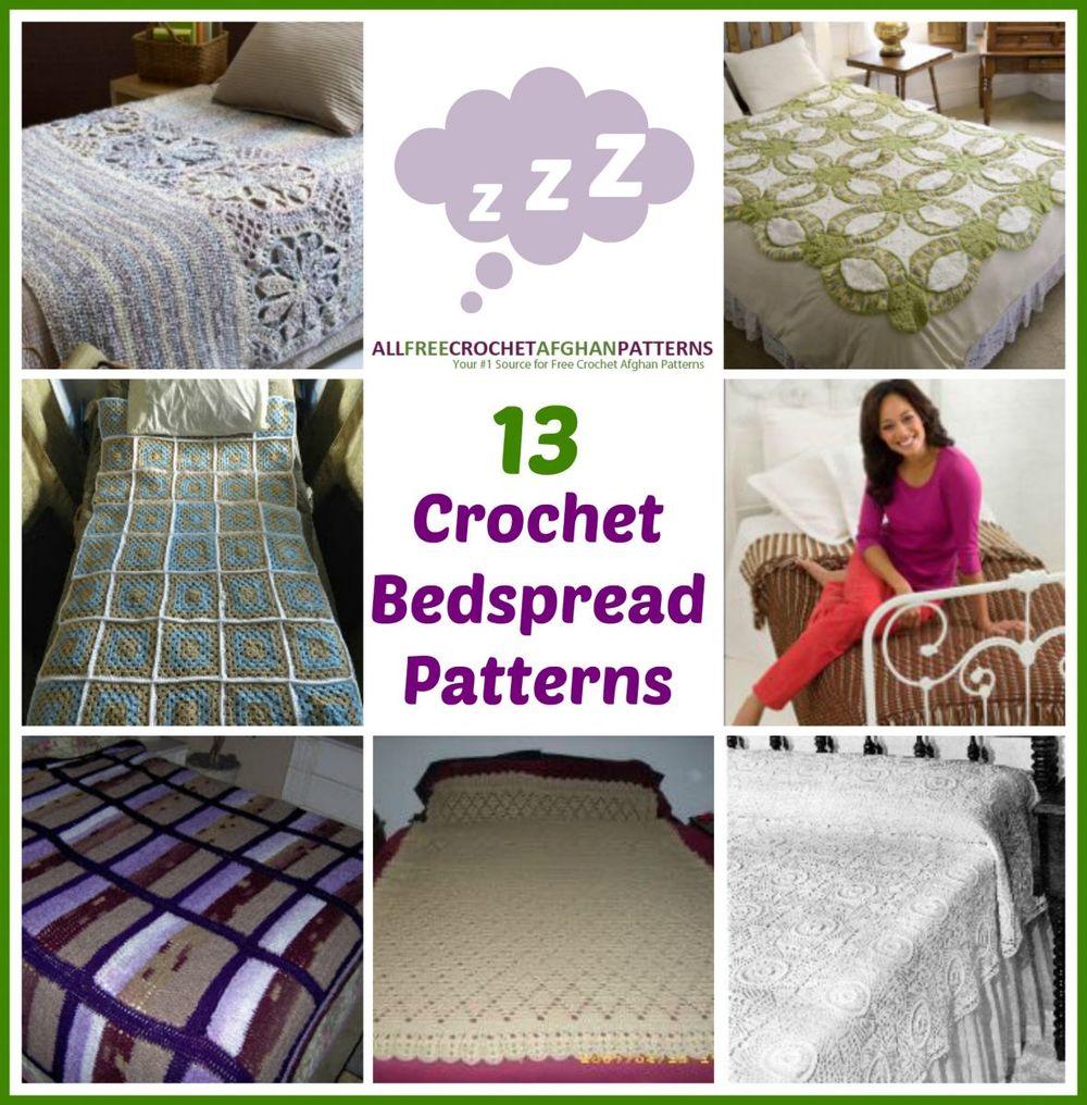 13 crochet bedspread patterns allfreecrochetafghanpatterns dt1010fo