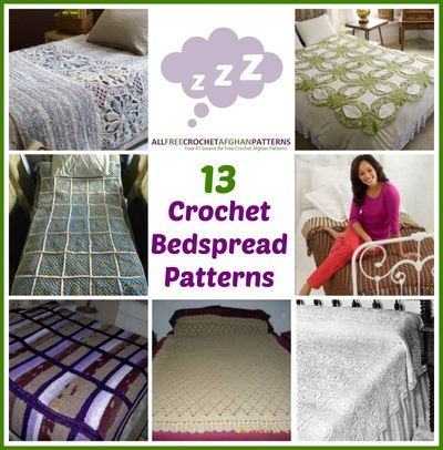 13 Crochet Bedspread Patterns Allfreecrochetafghanpatterns