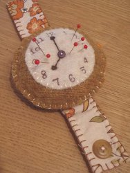 Wrist Watch Pincushion