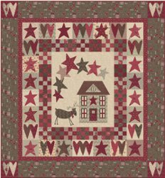 Christmas Wishes Applique Quilt Favequilts Com