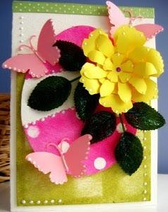 Pop up spring greeting card favecrafts m4hsunfo