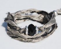 Silk Ribbon Wrap Bracelet