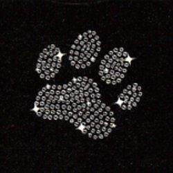 Dog Paw Print Iron On Favecrafts Com