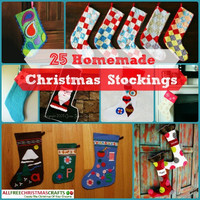 42 Homemade Christmas Stockings