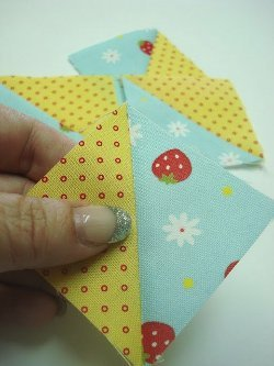 Super Easy Half Square Triangles