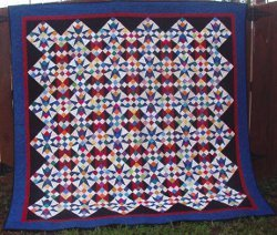 Cathedral Stars Quilt
