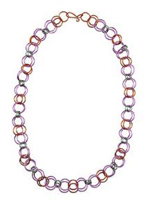 Colorful Jump Ring Choker