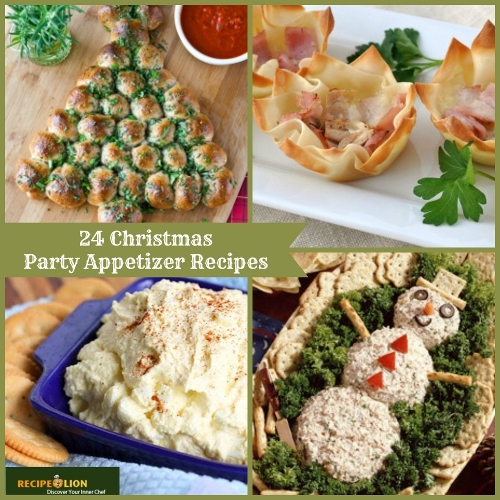 24 Christmas Party Appetizer Recipes