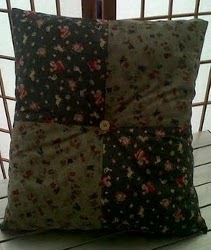 Simple Patchwork Cushion