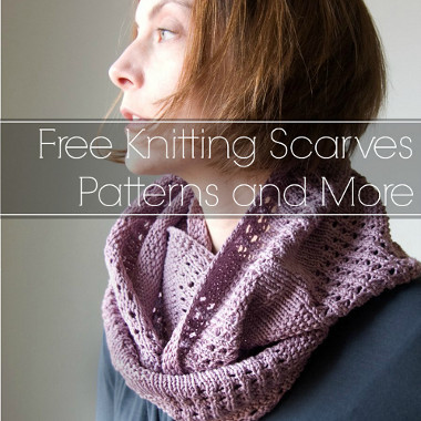 16 Free Knitting Scarves Patterns And More Allfreeknitting